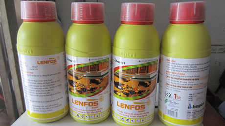 Cẩn thận khi diệt mối và phòng mối bằng Lenfos