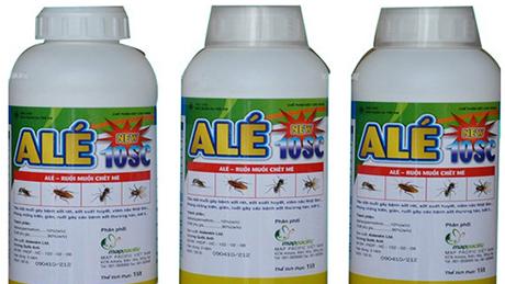 Thuốc diệt côn trùng ALÉ 10 SC